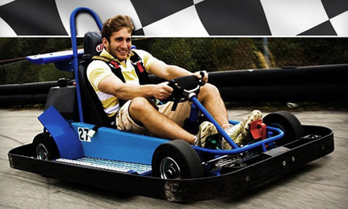 Statler's Fun Center - Unity: Two 10-Minute Go-Kart Rides and Two Rounds of Mini Golf at Statler's Fun Center in Greensburg (Up to $37.50 Value)