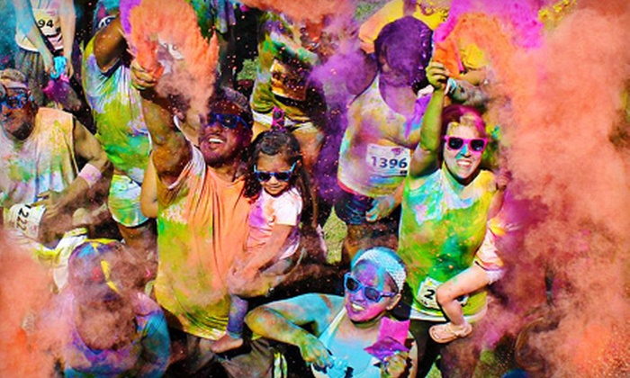 Color Me Rad Kansas City - Bonner - Loring: $20 for Entry to Color Me Rad 5K Run in Kansas City on Saturday, April 13 (Up to $40 Value)