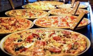 $23 for $50 Worth of Pizza, Chicken, and Buffet at Pizza Ranch East 10th Street