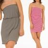 Romeo & Me Women's Strapless Dress