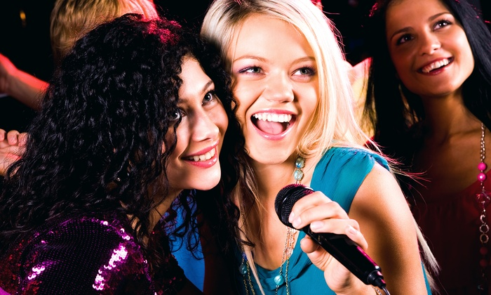 Glitz, Hair, Music & Excitement - Greenbrier East: Basic or Deluxe Roc the Mic Party for Four at Glitz, Hair, Music & Excitement(Upto 60% Off)