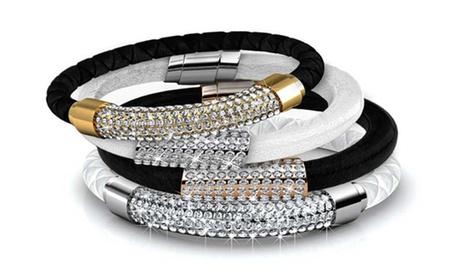 1 o 2 pulseras decoradas con cristales Swarovski®