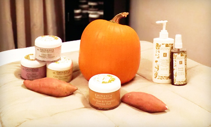 Luxe Beauty Lounge & Mobile Spa - Yaletown: $69 for an Eminence Organic Fall Facial with a Yam-and-Pumpkin Peel at Luxe Beauty Lounge & Mobile Spa ($140 Value)