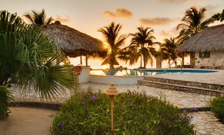 4- or 6-Night Stay for Two in an Ocean-View or Beachfront Room at Almond Beach in Belize