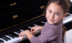 Julivanna Music Studio: Four or Eight 30-Minute Piano or Voice Lessons at Julivanna Music Studio (Up to 68% Off)