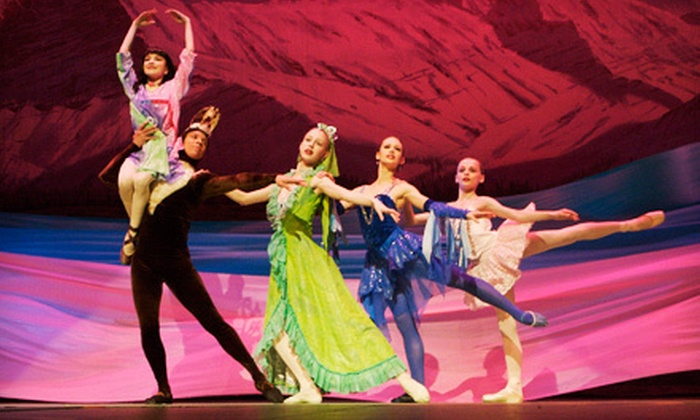 "Anchorage Ballet's ""Aurora: A Tale of the Northern Lights"" - The Alaska Center for the Performing Arts Atwood Theatre: Anchorage Ballet's ""Aurora: A Tale of the Northern Lights"" for Two at Sydney Laurence Theatre (Up to $84.50 Value)"