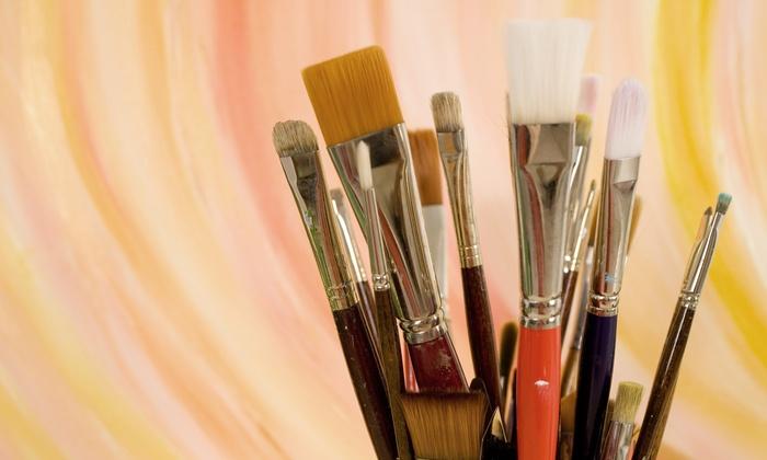 Katerina Atapina Art School - Thornhill: Children's or Adult Art Workshop, or Kids' Birthday Party for Up to 15 at Katerina Atapina Art School (Up to 67% Off)