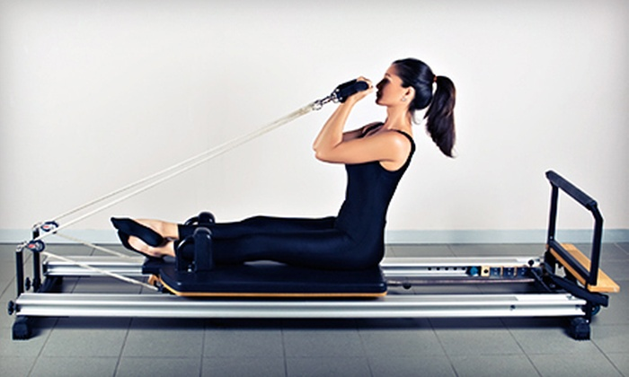 Hardcore Pilates - Greenway - Upper Kirby: 5 or 10 Reformer Classes, or One Private Session and 3 Reformer Classes at Hardcore Pilates (Up to 61% Off)