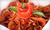 Cicciotti's Trattoria Italiana & Seafood - Cardiff: Italian Fare at Cicciotti's Trattoria Italiana & Seafood (Up to 57% Off). Two Options Available.