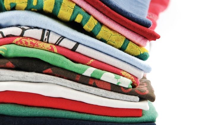 NEWD Clothing Company - Wick Field: 10, 15, or 20 Custom-Printed T-Shirts at NEWD Clothing Company (Up to 54% Off)