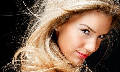 image for Cut, Blow-Out, and Style with Optional Root Touch-Up or Partial Highlights at Salon by the Sea (Up to 64% Off)