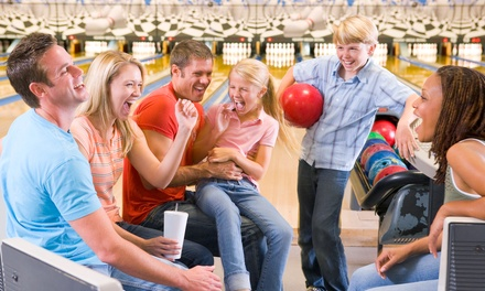 Bowling with Shoe Rental and Laser-Tag Passes for Two or Six at Funtastik! (Up to 57% Off)