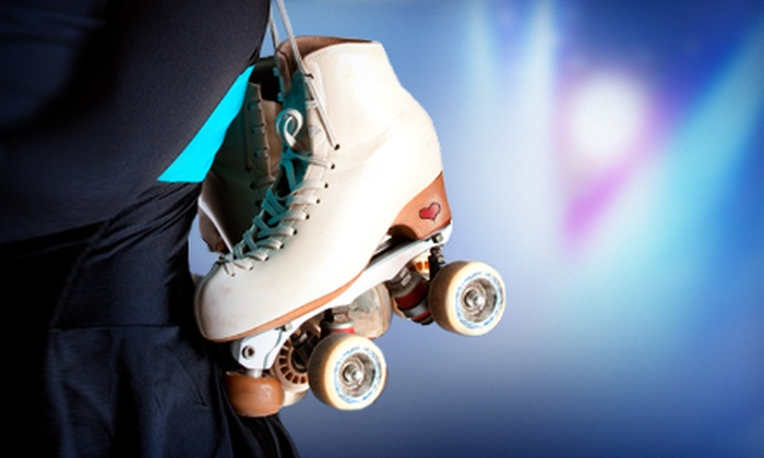 Super Skate Of Pinellas - Seminole Palms: Roller Skating with Rental Skates, Soft Pretzels, and Soda for Two or Four at Super Skate of Pinellas in Largo (Up to 64% Off)