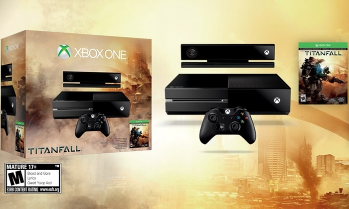 Xbox One Console with Titanfall and Xbox One T-Shirt: Xbox One Console with Titanfall and Xbox One T-Shirt