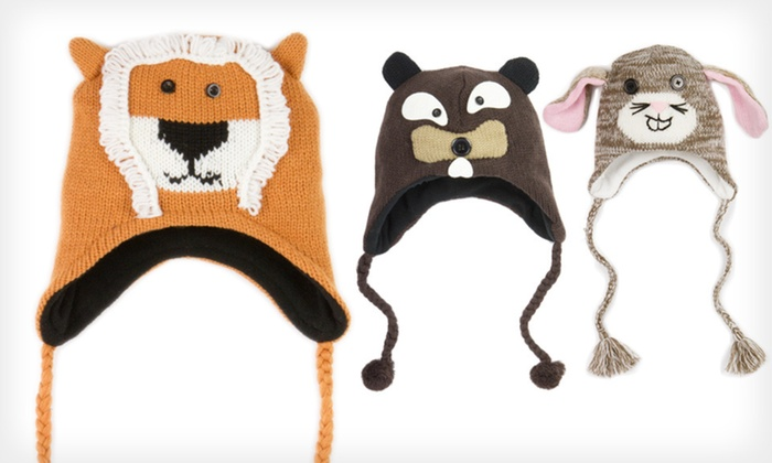 David & Young Critter Hats: $10 for a David & Young Critter Hat ($26 List Price). 15 Styles Available. Free Shipping.