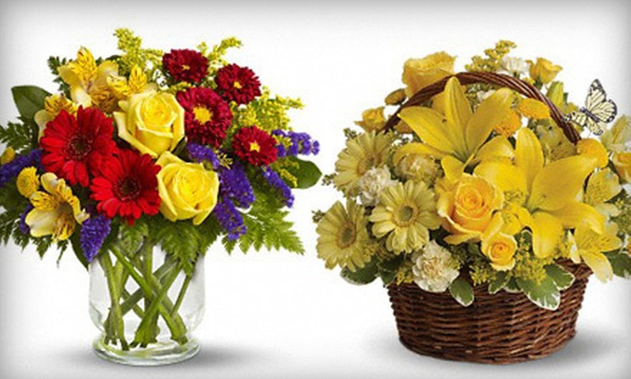The Flowerman - Mid Central: Flowers at The Flowerman (Up to 53% Off). Two Options Available.