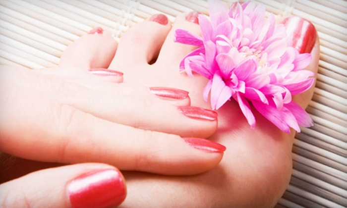 Kali's Kreative Nails - Wines: One Shellac Manicure or Basic Mani-Pedi at Kali's Kreative Nails (Up to 59% Off)