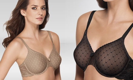 Wacoal Reveal Underwire Bra in Black or Toast