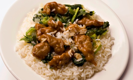 $12 for $20 Worth of Mongolian Food at Mongolia Express