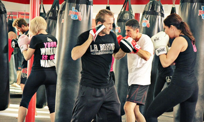 LA Boxing - Multiple Locations: One Month of Unlimited Boxing, Kickboxing, and MMA Classes for One or Two at LA Boxing (Up to 79% Off)