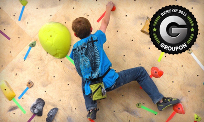 The Front Climbing Club  - Ogden Central Buisness District: Month Climbing Membership, After-School Program, or Five-Day Summer Camp at The Front Climbing Club (Up to 63% Off)