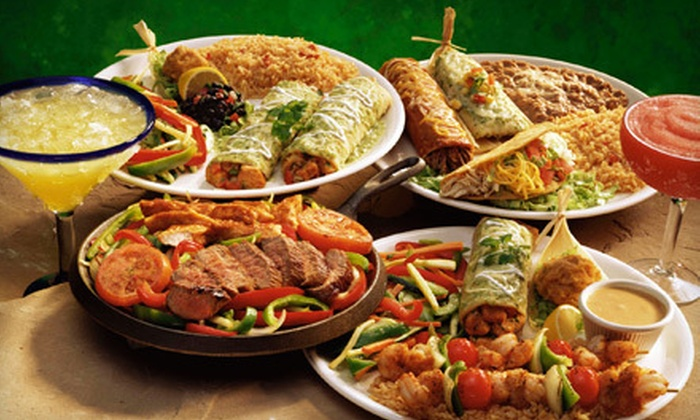 Las Palmas - Multiple Locations: $20 for $40 Worth of Mexican Fare for Dinner at Las Palmas. Eight Locations Available.