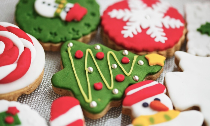 Laura's Bakery and Cake Studio - Greenwood: Holiday-Themed Cookies or $25 Worth of Baked Goods at Laura's Bakery and Cake Studio (Up to 48% Off)
