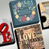 """12""""x12"""" All About Love Print on Gallery-Wrapped Canvas"""