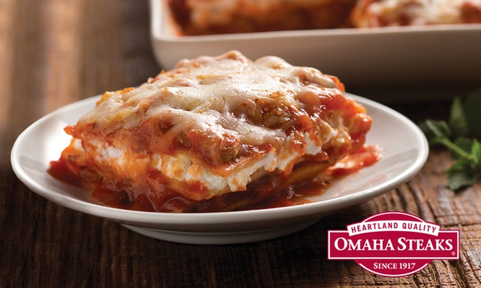 Omaha Steaks: Ready-to-Cook Meals from Omaha Steaks.  Two options. (Up to 64% Off )