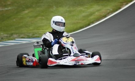 One, Two, or Four Tickets to See a Kart Race at TS Racing Atlanta (Up to 50% Off)