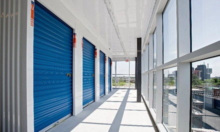 Truck Rental, Moving Supplies, and Storage Unit at Spaces Self Storage (Up to 82% Off). Two Options Available.