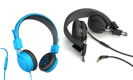JLab Intro on-Ear Headphones with Universal Microphone