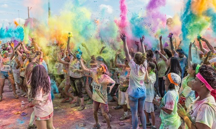 $25 for Registration for 1 to The Colorful 5K – Graffiti Run on Saturday, March 22 (Up to $50 Value)