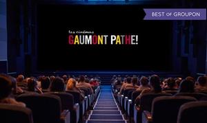 Gaumont Pathé: 1 ou 2 places pour les cinémas Gaumont et Pathé valables jusqu'au 30 novembre 2017 pour films en 2D dès 8,70 €