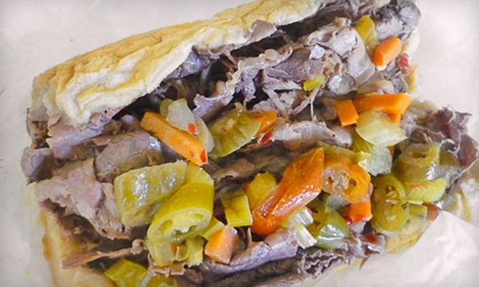 Spalla's Chicago Italian Beef - Golden Triangle: $12 for Four Groupons, Each Good for $6 Worth of Chicago Cuisine at Spalla's Chicago Italian Beef ($24 Total Value)