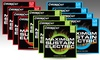 ChromaCast Electric or Acoustic Guitar Strings 4-Pack: ChromaCast Electric or Acoustic Guitar Strings 4-Pack