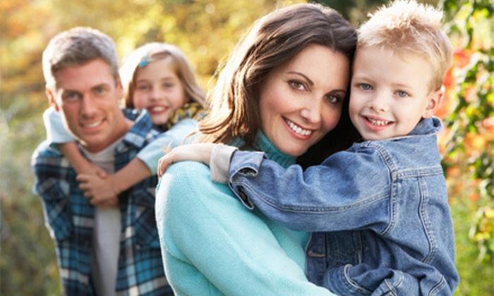 KidzPix USA - Olde Torrance Neighborhood: In-Studio or Outdoor Kids' or Family Portrait Package from KidzPix USA (Up to 83% Off)