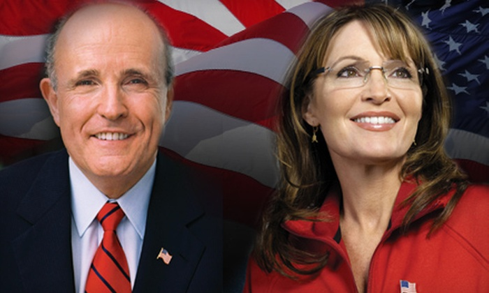 PowerUp Live - Nampa: PowerUp Live Leadership Summit with Sarah Palin and Rudy Giuliani at Idaho Center on October 17 at 8 a.m. ($29 Value)
