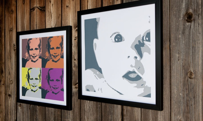 Personalised Pop Art Canvas Groupon Goods Wall Art