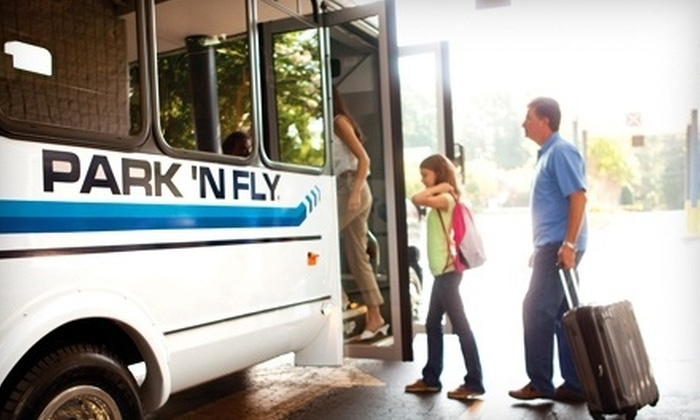 Park 'N Fly - Linthicum Heights: Airport Parking Near BWI for Three, Five, or Seven Days with Shuttle Service at Park 'N Fly (Up to 47% Off)
