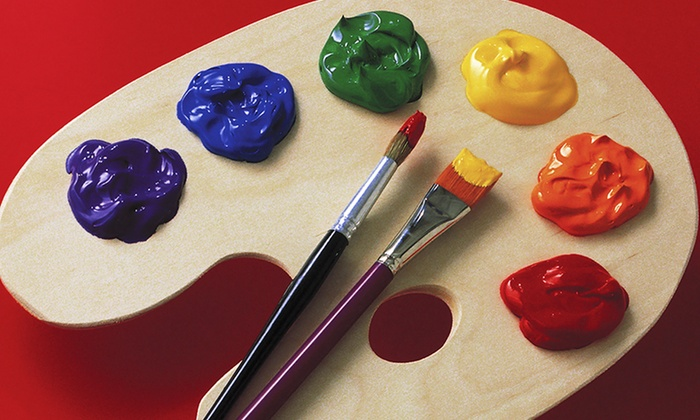 Museo Art Academy - Gilman: Pizza & Picasso Workshop for 1 or 2 Kids or BYOB Painting Party for 6 Adults at Museo Art Academy (57% Off)