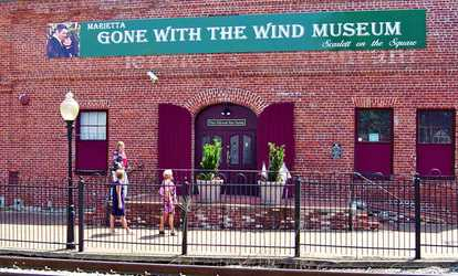 Image Placeholder For Visit Two Or Four To Marietta Gone With The Wind Museum Up