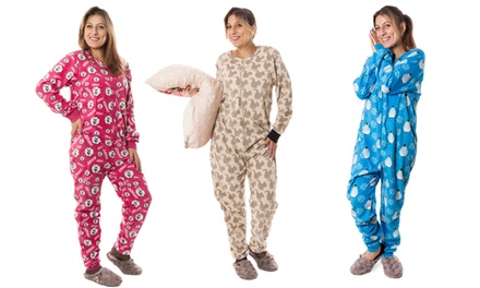 Women's Fleece Onesies for £9.98