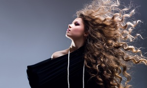 Suite Extensions Salon: Deep-Infusion Moisture Treatment and Style with Optional Single-Process Color at Suite Extensions Salon (51% Off)