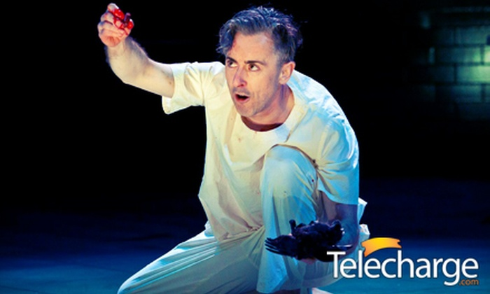 """""""MacBeth"""" on Broadway starring Alan Cumming - Theater District - Times Square: """"Macbeth"""" on Broadway Starring Alan Cumming at the Barrymore Theatre (Up to 41% Off). 14 Options Available."""