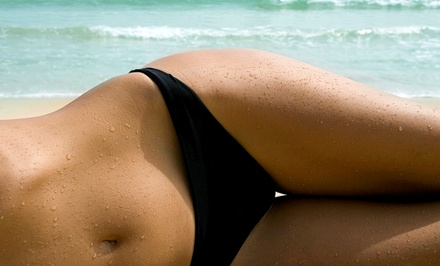 One or Three Brazilian Waxes at Deja Groove Salon and Spa (Up to 55% Off)