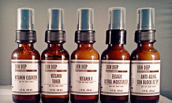 Studio Skin Deep: Organic Oily/Acne Skin Kit or Organic Dry/Sensitive Skin Kit from Studio Skin Deep in New Smyrna Beach (Up to 70% Off)
