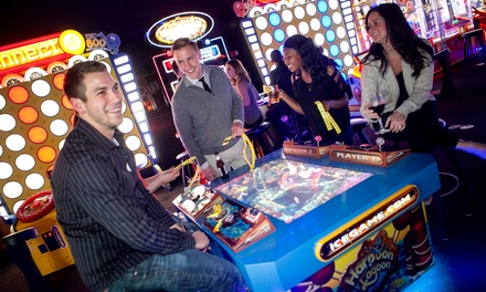 $25 for Four Laser-Tag Entries and $24 Worth of Arcade Game Play at C.J. Barrymore's ($50 Value)