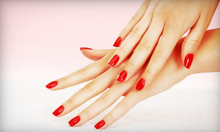 Euphoria Salon - North End: One or Three Manicures at Euphoria Salon (Up to 58% Off)
