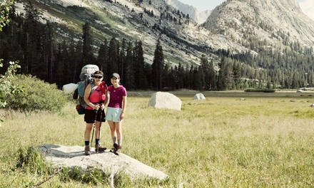 $990 for an Eight-Night Trans-Sierra Trek to Mt. Whitney from Trans-Sierra Club ($1,750 Value). Three Dates Available.